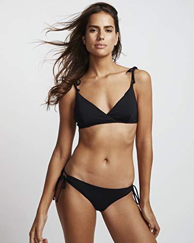 Billabong Damen Bikinis S.S Paradise Crossed, Black Pebble, M, S3ST03