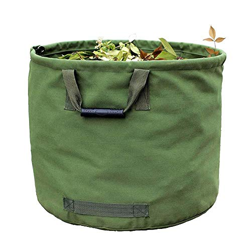 Portable Opvouwbaar Grote Tuin Leaves Afval Vuilniszak Canvas Camping Herbruikbare Storage Container