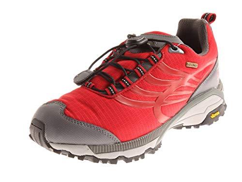 Lackner Wanderschuhe Trekkingschuhe Lederschuhe Leder Schuhe Revolution Rot EU 43 UK 9