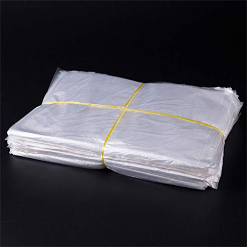 Best Review Of YBLSMSH 100 PCS 2.8C Dust-Proof Moisture-Proof Plastic PE Packaging Bag, Size: 60cm x...