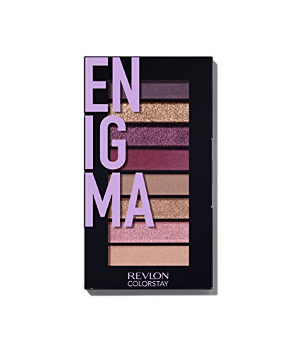 REVLON Colorstay Looks Book Eyeshadow Palette, Enigma, 3.4 Ounce