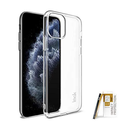 COPAAD Funda para iPhone 11 Pro Max, ultra delgada, resistente al desgaste, transparente, rígida para iPhone 11 Pro Max