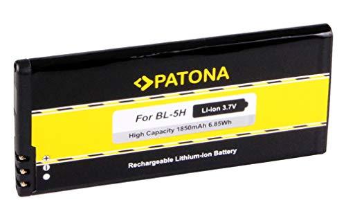 Batteria BL-5H BL5H per Nokia Lumia 630   Lumia 630 Dual Sim   Lumia 635   Lumia 636   Lumia 638 - [ Li-Ion; 1850mah; 3.7V ]