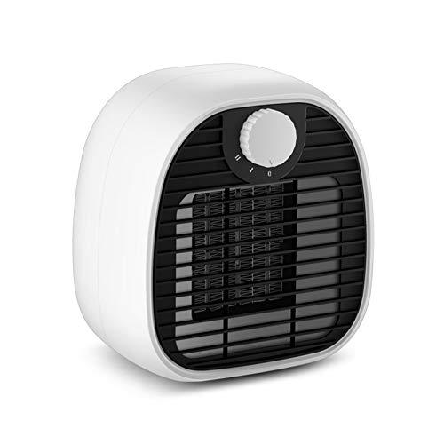 Calentador De Ventilador De Cerámica, Mini Calentador De Espacio De Escritorio De 1000 W, Portátil Eléctrico con PTC Ceramic Fast Heat 2 Configuraciones De Calor, para El Hogar