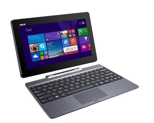 ASUS Transformer Book T100TAF-B14-GR 2-in-1 Tablet Intel Atom Z3735F (1.33 GHz) 32 GB eMMC Intel HD Graphics Shared memory 10.1' Touchscreen Windows 8.1(Renewed)