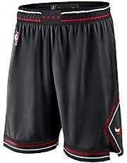 Chicago Bulls LaVine Jordan - Pantaloncini da basket da uomo, alla moda, ricamati, traspiranti, resistenti all'usura, per attività all'aria aperta, fitness e sport