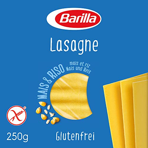 Barilla Pasta Lasagne glutenfrei aus Reis und Mais, 250g
