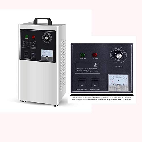 Air Purifier for Ozone Machine 360 ° Sterilizer Stainless Steel Ozonator Air Purifier for Cars Based on Fruits And Vegetables