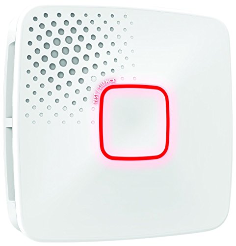 First Alert 1036469 Smart Wi Fi Smoke and Carbon Monoxide Detector, Hardwired