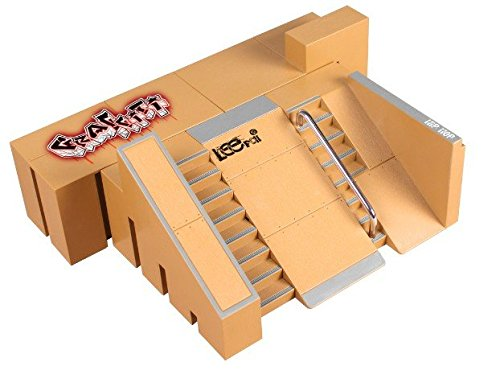Mentin 5 stücke Tech Deck Leiterplatte Mini Finger Skateboard Fingerboards Ultimative Parks