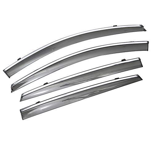 Coche 1 Juego, para Chevrolet Malibu 2012 2013 2014 2015 Ventana de Humo de Coche Visera de Lluvia ABS ventilación deflectores de Sol Protector
