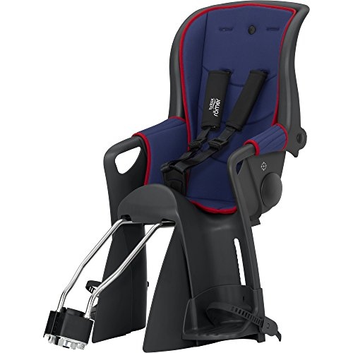 Britax Römer Kinderfahrradsitz 9 Monate - 5 Jahre I 9 - 22 kg I JOCKEY RELAX Gruppe 2/3 I Blue/Red