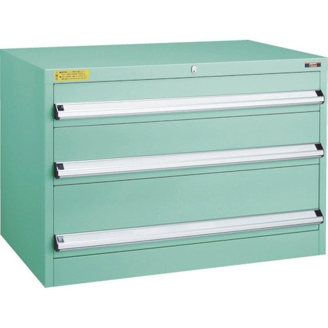 許可省スポンジトラスコ VE9S型キャビネット 880X550XH600 引出3段 VE9S-603