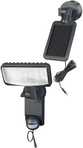 Brennenstuhl Solar LED-Leuchte Premium SOL LH0805 P1 IP44 mit Infrarot-Bewegungsmelder 8xLED Anthrazit, 1179320