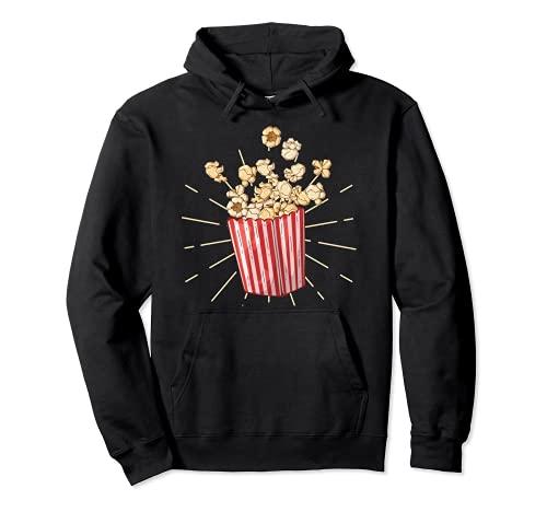 Palomitas de maz retro vintage - popcorn Sudadera con Capucha