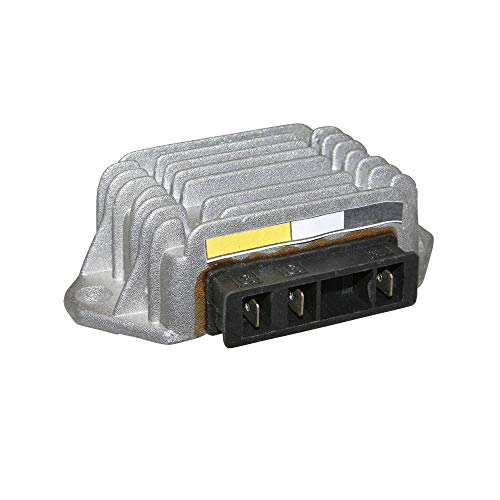 Motodak Spannungsregler für Maxiscooter kompatibel mit Piaggio 125 Vespa px 1985+ (ohne Starter) (Anschluss schwarz 3 Stecker) – sGR-