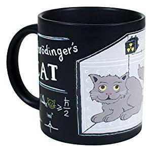 Schrodinger's Cat Heat Changing Mug