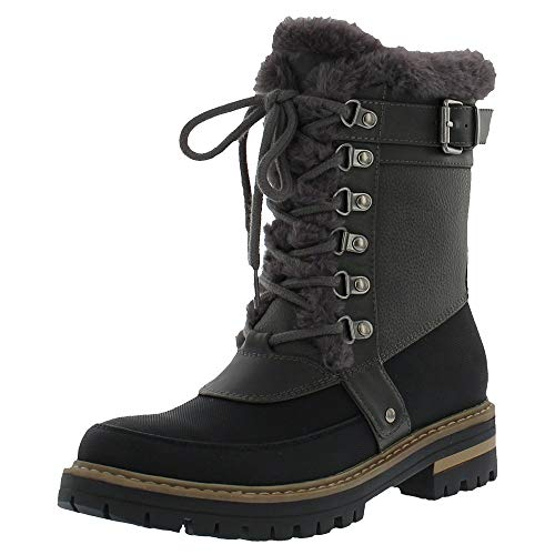 Khombu Reese Boot Womens Grey