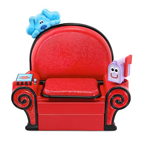 LeapFrog Blue's Clues and You! Play and Learn Thinking Chair (Frustration Free Packaging), Red