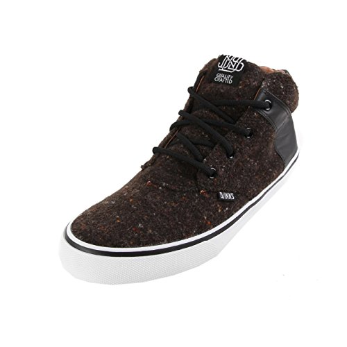 Djinns - Chunk Spotted Felt (Black) - Sneaker, EU 40