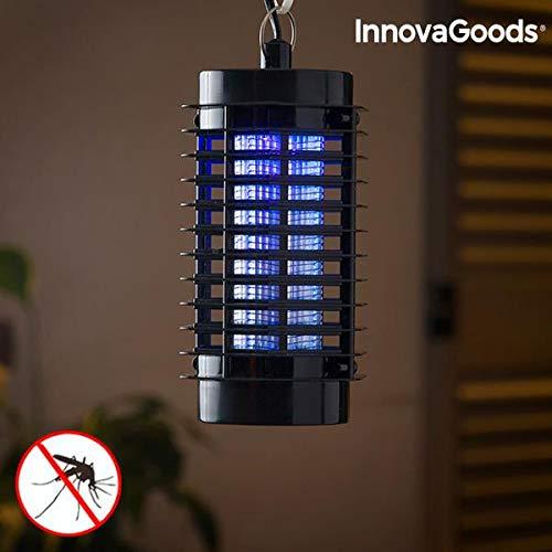 Innovagoods  KL-900 - Lámpara Antimosquitos, 220-240 V, 3W, Negro