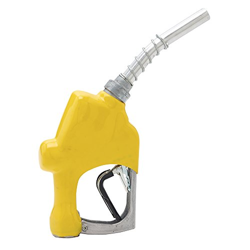 Full Grip Guard and Yellow Hand Guard Husky 173310N-05 New VIII Heavy Duty Diesel Nozzle with Three Notch Hold Open Clip
