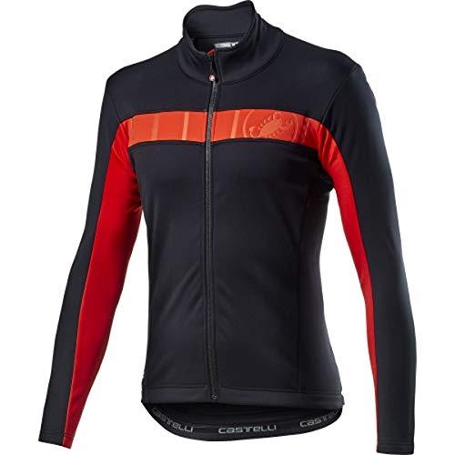 CASTELLI Mortirolo Vi Jacket Sportjacke für Herren M Light Black