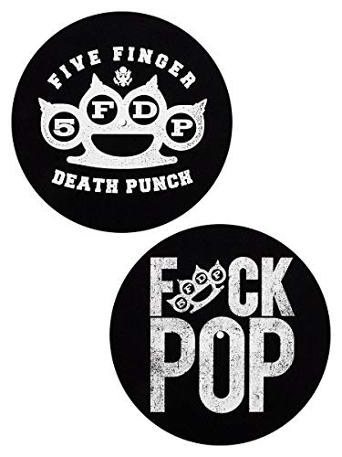 FIVE FINGER DEATH PUNCH Knuckle/Fuck Pop Slipmat/Schallplattenspielerauflage