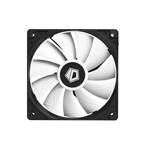 Ventilador de levitación magnética de alta presión de bajo ruido, XF-12025-SD-W PWM PC Case Fan marco negro blanco Blade ventilador de chasis de ordenador
