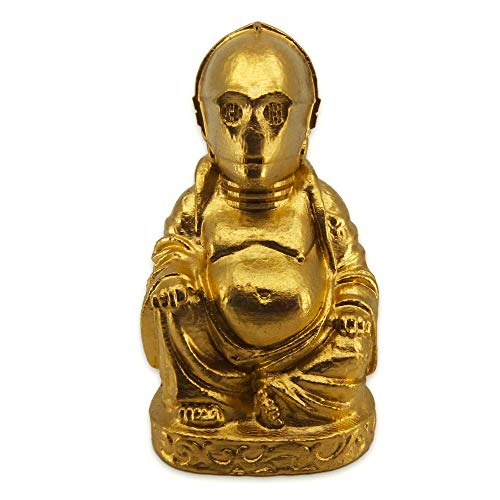 muckychris C3PO Buddha   Star Wars   Brilliant Gold 2'