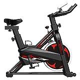 Bicicleta Estática Ciclismo Interior Estacionaria,Resistencia Magnética Ajustable y Volante Pesado Impulsado por Correa,Suave Silencioso,para Gimnasio en Casa Equipo Fitness