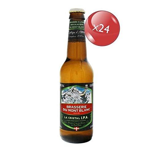 BIERE - MONT BLANC LA CRISTAL IPA 24 * 33CL
