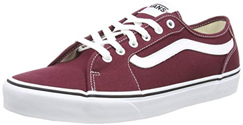 Vans Filmore Decon, Zapatillas para Hombre, Rojo (Canvas) Port Royale/White 8j7), 42