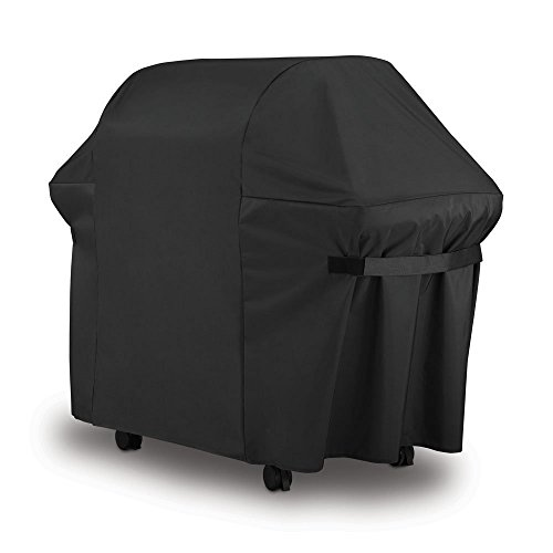 LiBa BBQ Gas Grill Cover 7107 for Weber 44x60 in Heavy Duty Waterproof and Weather Resistant Weber Genesis and Spirit Series Outdoor Barbeque Grill Covers