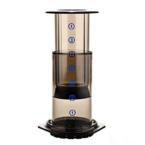 Baoyouls 新しいフィルターガラスエスプレッソコーヒーメーカーポータブルカフェフレンチプレスカフェコーヒーポット用エアロプレス機