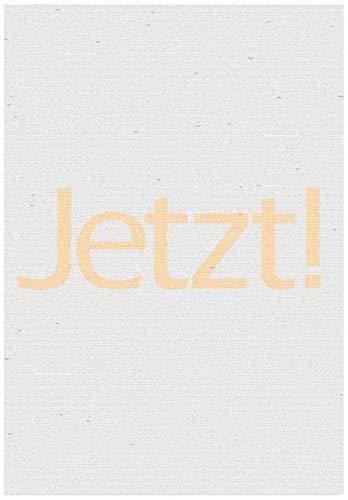 Jetzt!-Plakat: Schwarz-Weiß