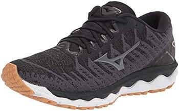 Mizuno Men's Wave Sky 4 WAVEKNIT Running Shoe, Dark Shadow, 15 D US