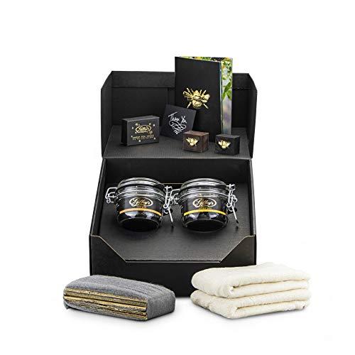 Gilboy's beeswax furniture polishing kit (rose & antique)