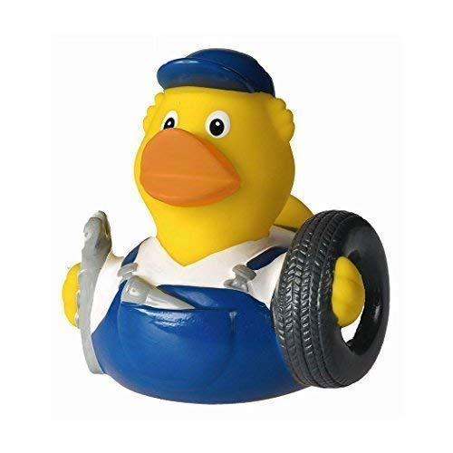 Mein Zwergenland Quietsche-Ente Quietscheente Badeente Bath Duck Mechaniker