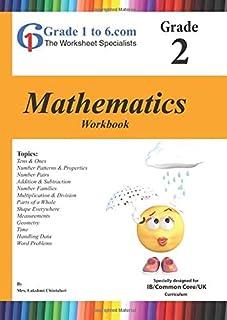 Grade 2 Mathematics Workbook: Grade1to6 Books