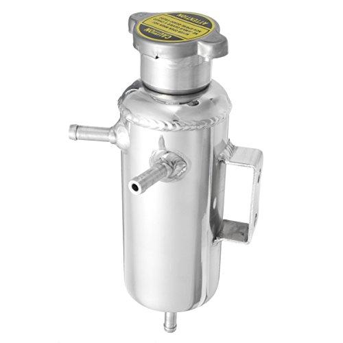 C-FUNN Réservoir en Aluminium De Réservoir De Prise De Liquide De Refroidissement De l'eau De Réservoir De Liquide De Refroidissement De Réservoir De 350Ml