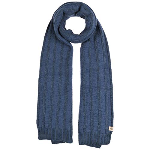 Roeckl Merinoschal Schal Wollschal Herrenschal Strickschal (One Size - denim)