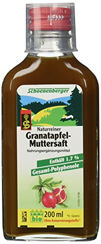 Schoenenberger Granatapfel-Muttersaft, 1er Pack (1 x 200 ml)