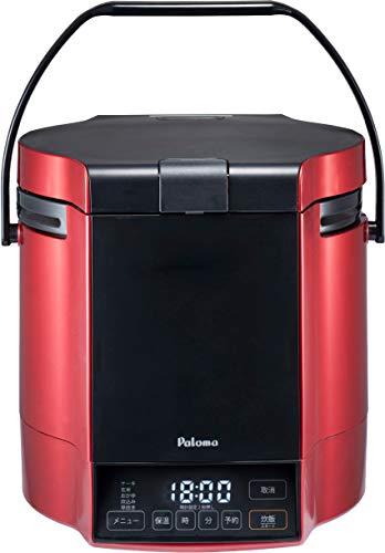 パロマ ガス炊飯器 炊きわざ PR-M18TR -LPG (1.8L/10合炊き) 【プロパンガス(LPG)用】プレミアムレッド×ブラック