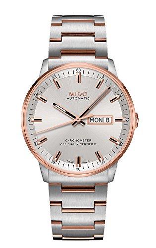 Mido Reloj Analógico para Hombre de Automático con Correa en Acero Inoxidable M021.431.22.031.00
