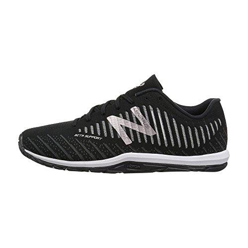 New Balance Women's WX20BP7 Minimus Training Shoe, Black, 8.5 B US