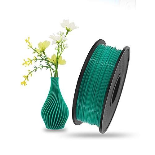 Trintion Filament PLA 1,75mm Druckmaterialien, 3D Drucker PLA Filament Zubehör 1kg Spool (Grün)