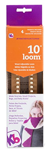 Authentic Knitting Board Loom, 10-Inch