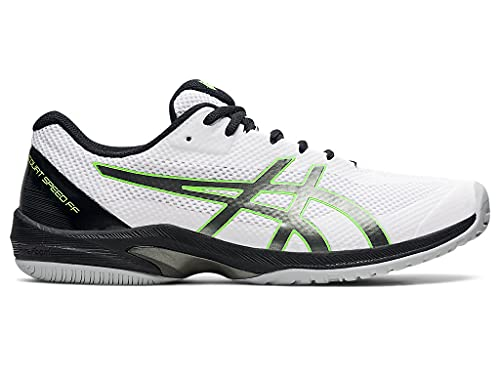 ASICS Men's Court Speed FF Tennis Shoes, 10.5, White/Gunmetal