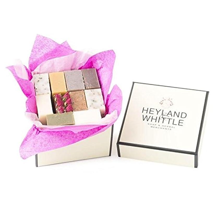 アカデミック服を洗うゲームHeyland & Whittle Soap Gift Box, Small (Pack of 6) - 小さな&削るソープギフトボックス、 x6 [並行輸入品]
